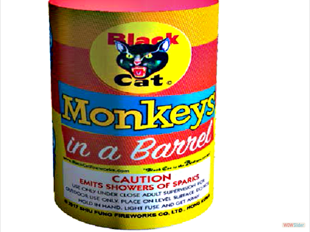 MONKEYS IN A BARREL
