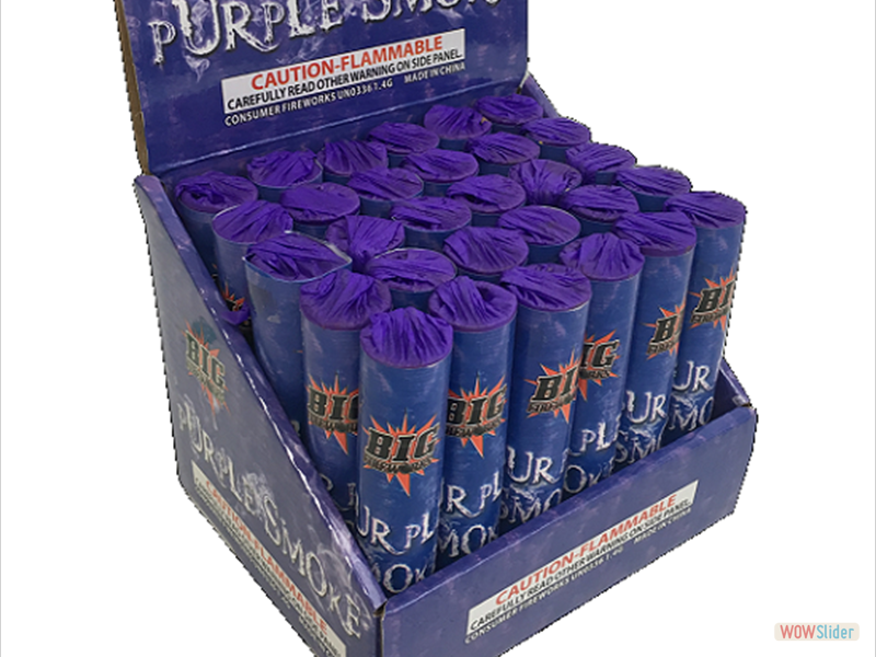 PURPLE SMOKE TUBE